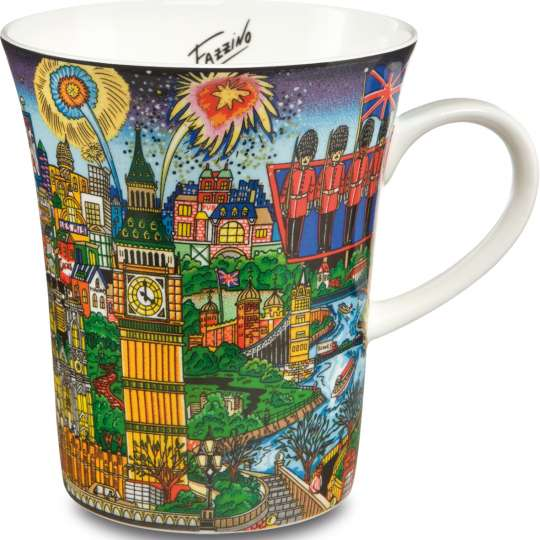 Goebel PopArt - Charles Fazzino - Tasse - The Lights of London 67090071