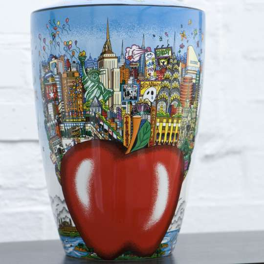 Goebel PopArt - Charles Fazzino - Vase - Butterflies over New York 67090111