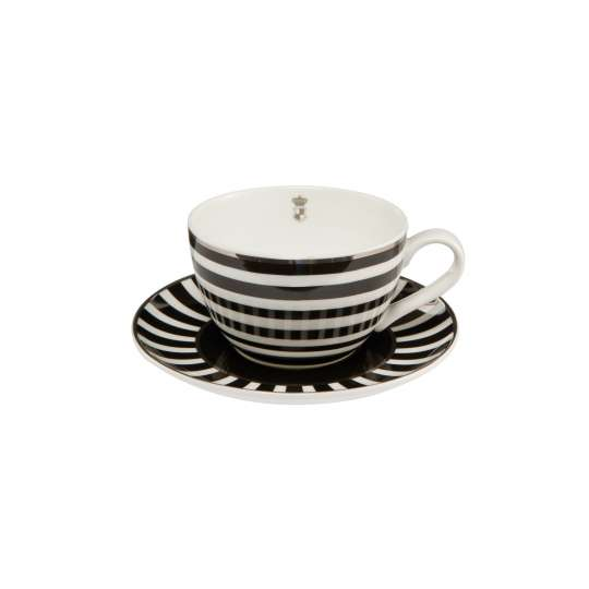 Goebel Teetasse Stripes