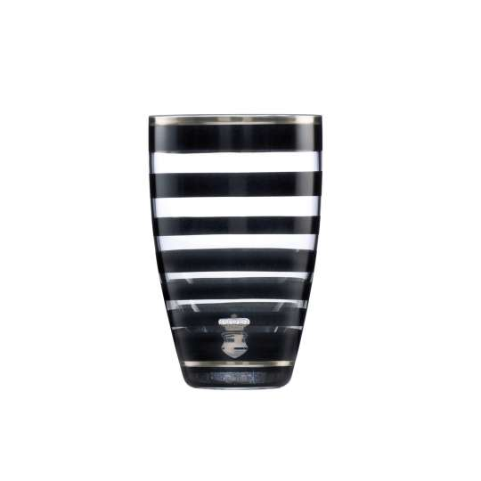 Goebel Stripes Vase Glas