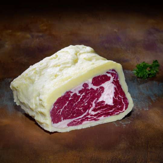 Deutschlands erstes Butter-Steak / Butter aged:
