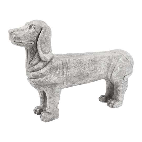 Dekohund BANK naturfarben