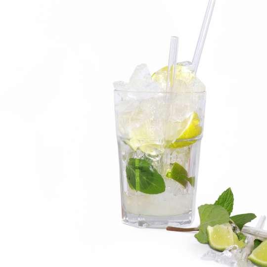 Homiez: Glastrinkhalm 'Vetro' maxi und mini, Cocktailglas, Motiv 2