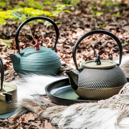 Teekannen von ja-unendlich im Country-Look / Mood Herbstlaub 2