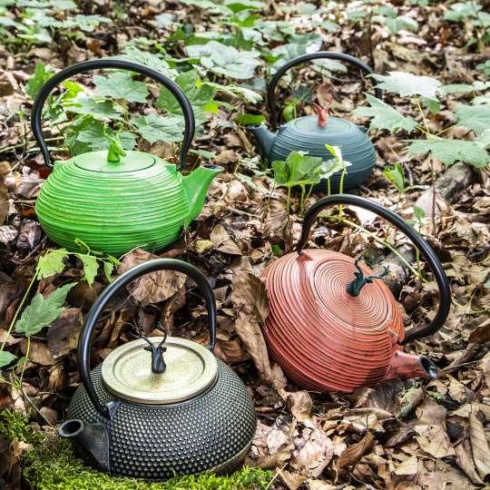 Teekannen von ja-unendlich im Country-Look / Mood Herbstlaub 3