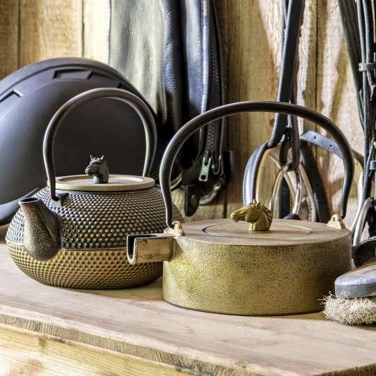 Teekannen von ja-unendlich im Country-Look / Mood Teekannen mit Pferd