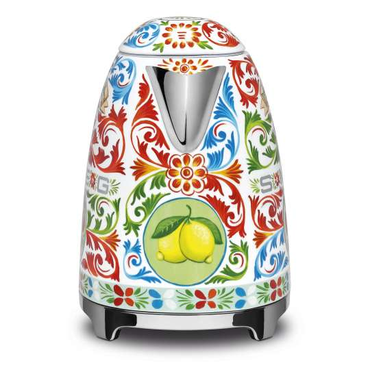 "Smeg / Wasserkocher im Dolce & Gabbana Design ""Sicily is my Love"""