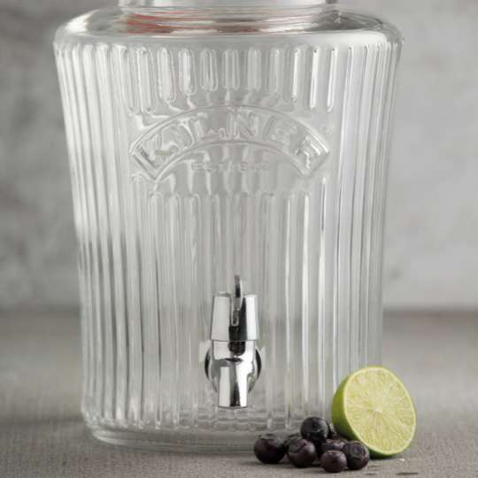 Kilner - Getränkespender  5 oder 8 Liter Fassungsvermögen