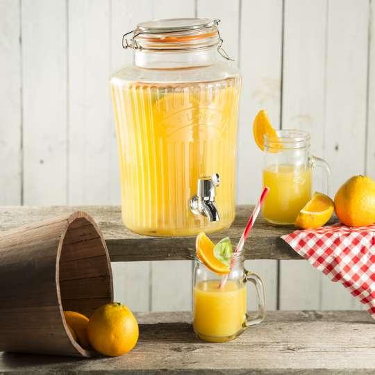 Kilner - Getränkespender  5 oder 8 Liter Fassungsvermögen Mood