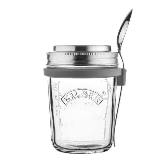 Kilner - Frühstücksglas (350 ml) mit Deckel 0025.899