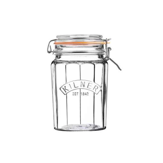 Kilner Facetten Glas mit Bügelverschluss  0025.734