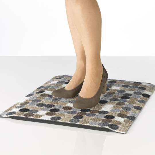 Kleen-Tex Stand-On Mikado Dots nature - Detail 1
