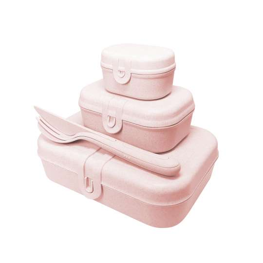 Koziol PASCAL READY  3168669 Lunchboxen + Besteckset