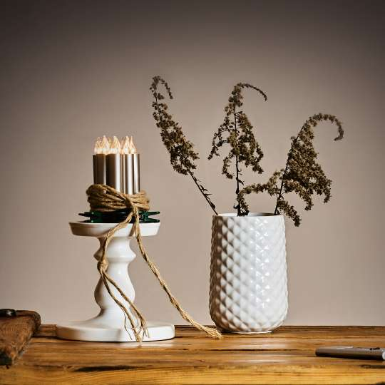 Krinner LUMIX Superlight Mini Kerzen Cashmere Mood