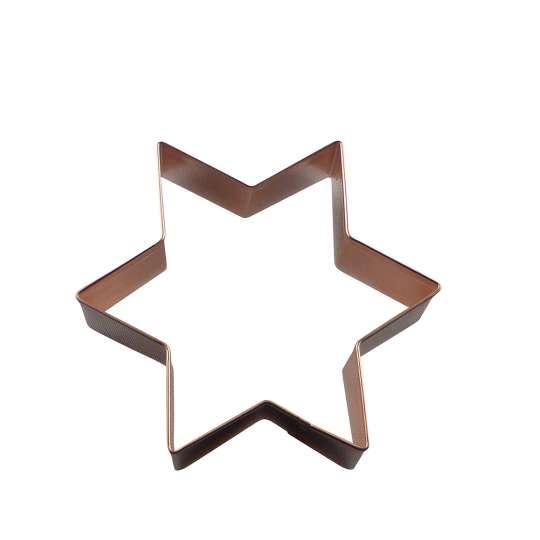 Kupfermanufaktur Weyersberg Ausstechform Motiv Stern groß