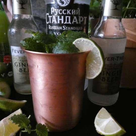 Kupfermanufaktur Weyersberg - Kupferbecher für Cocktails / Limette