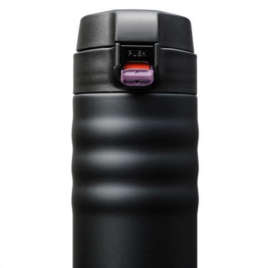 Kyocera Flip Top Thermobecher schwarz