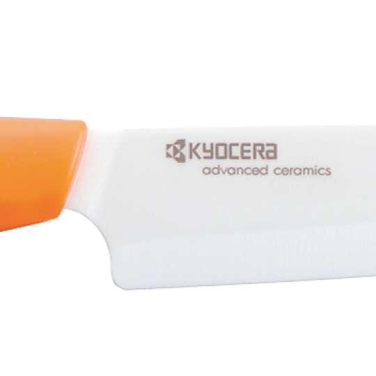 Kyocera GEN ORANGE Keramik-Allzweckmesser