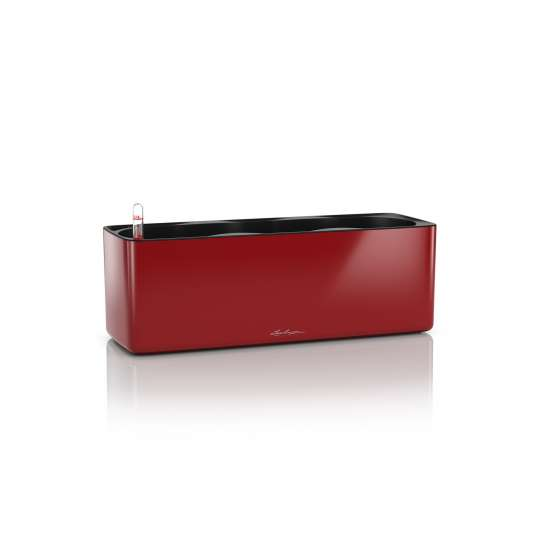 Lechuza Cube Glossy Triple scarlet rot Kräuterkasten