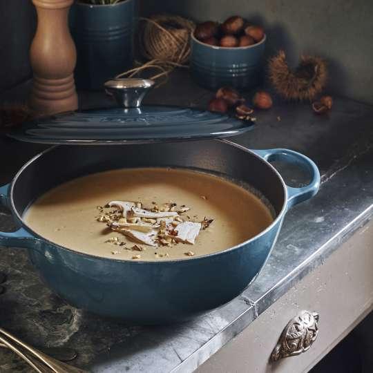 Le Creuset - Steinpilz-Maronen-Suppe