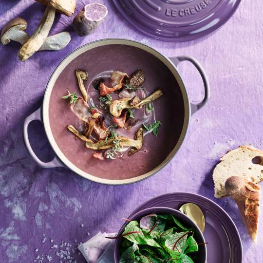 Le Creuset Kartoffelsuppe Ultra Violetter Braeter