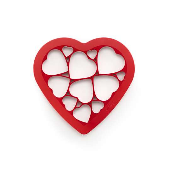 Lekue Cookie Puzzle Hearts