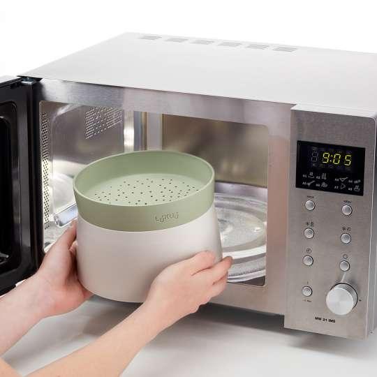 Lékué – Quick Quinoa & Rice Cooker - einfach in der Mikrowelle