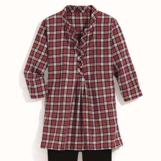 Linvosges-Kollektionen mit Hüttenflair: Damenpyjama Celine