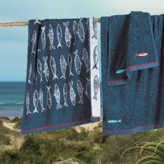 Faszinierende Meereswelten: Textilien von Linvosges, Handtuch