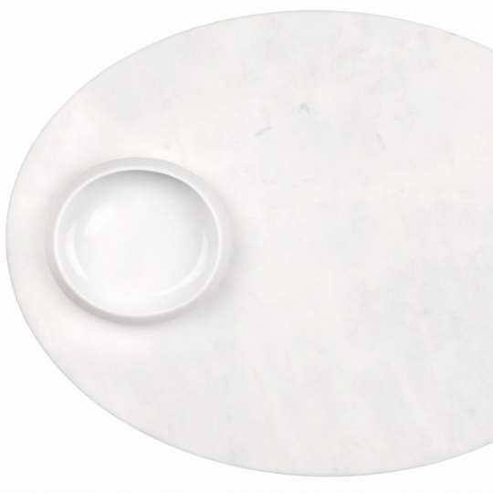 Mix & Match Mamortablett mit Schale aus Porzellan