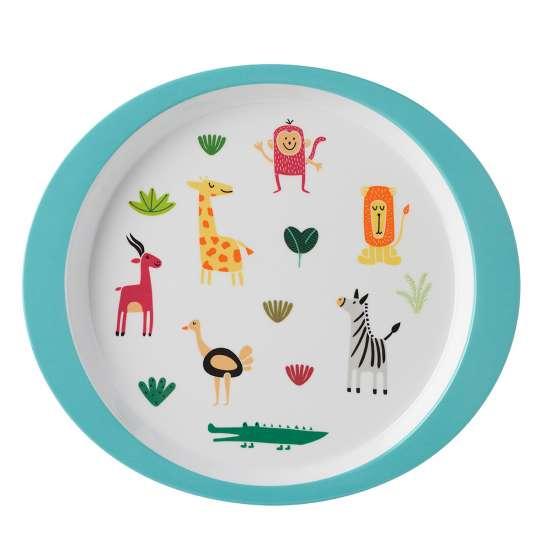 Mepal - Kinderdekore - Kindergeschirr-Set animal friends - Teller