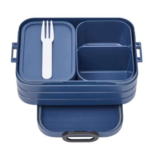 Mepal - To-Go-Range - TAB Lunchbox mit Bento-Einsatz, midi denim