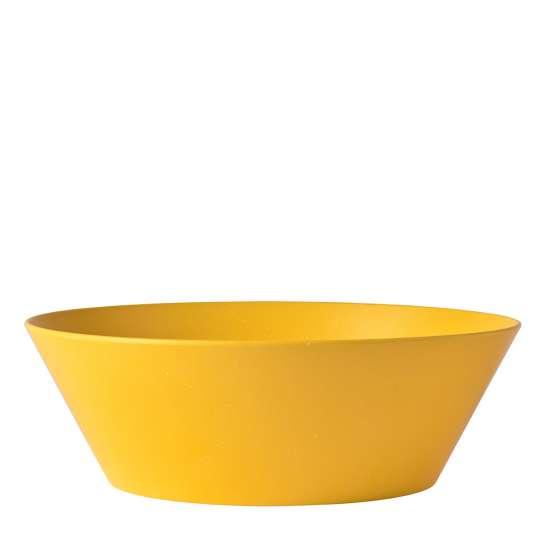 Mepal - Melamin Geschirrserie Bloom - Servierschale pebble yellow