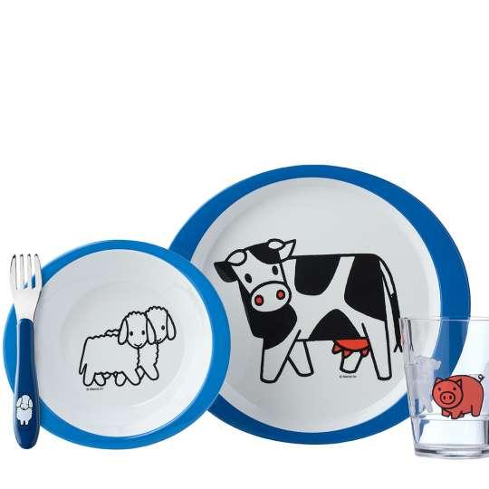 Mepal - Kinderdekore - Kindergeschirr-Set 5-teilig - farm