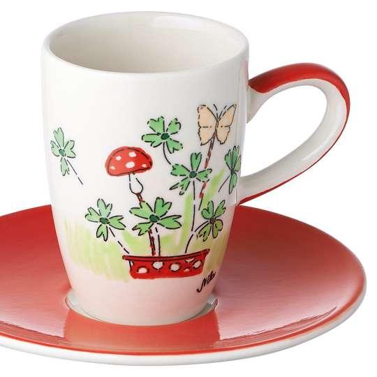 Mila Viel Glück  Espresso Tasse 88196