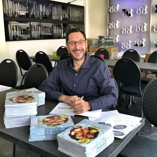 Mirko Reeh signiert_Foto Usinger
