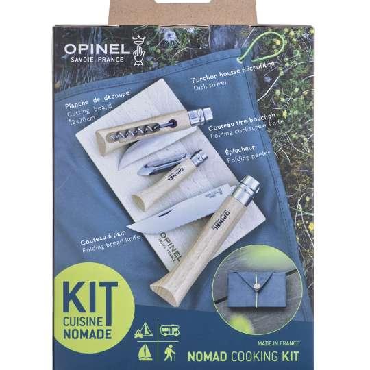 Opinel Set Kit Nomad Verpackung Rückseite