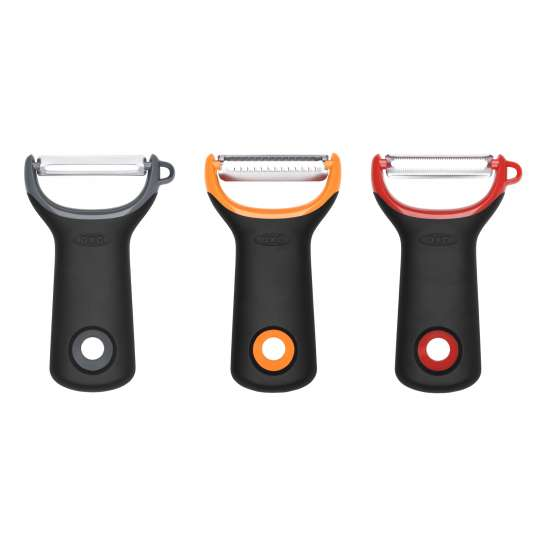 OXO  Good Grips 3-teiliges gemischtes Schäler-Set 11244100-2