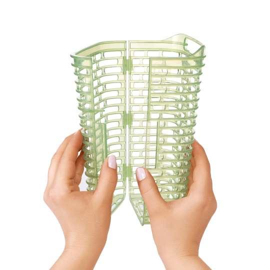 OXO GreenSaver Frischhaltebox für Kräuter groß 2,7 L Anwendung