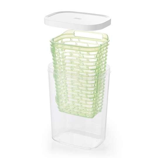 OXO GreenSaver Frischhaltebox für Kräuter groß 2,7 L Einzelteile
