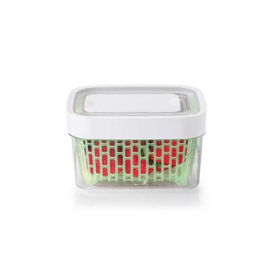 OXO GreenSaver Frischhaltebox 1,5 L Erdbeeren