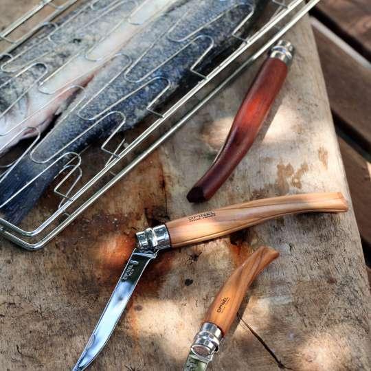 Fisch mit drei Slim-Line Messer
