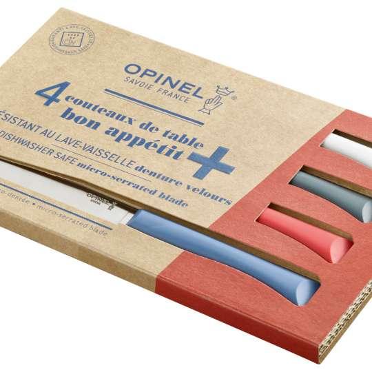Opinel Bon Appetit+ Tafelmesser-Set - Verpackung quer