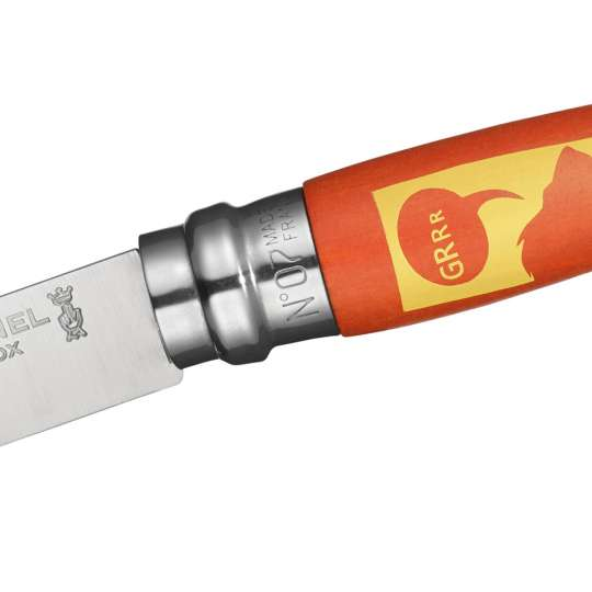Opinel Kindermesser Orange - Löwe