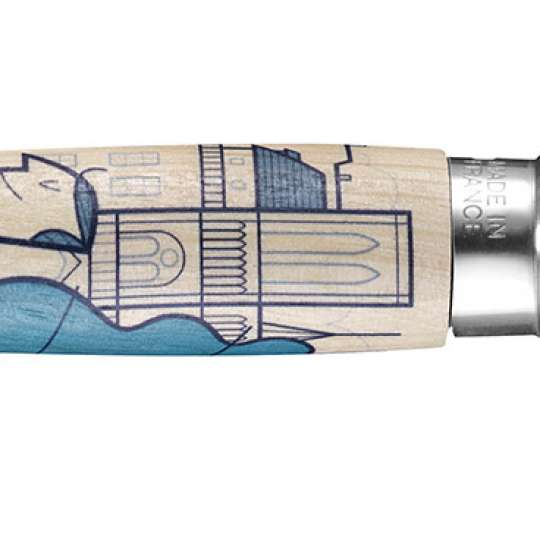"Opinel Edition ""France!"" limitiertes Messer Nº 08 designed by Ale Giorgini"