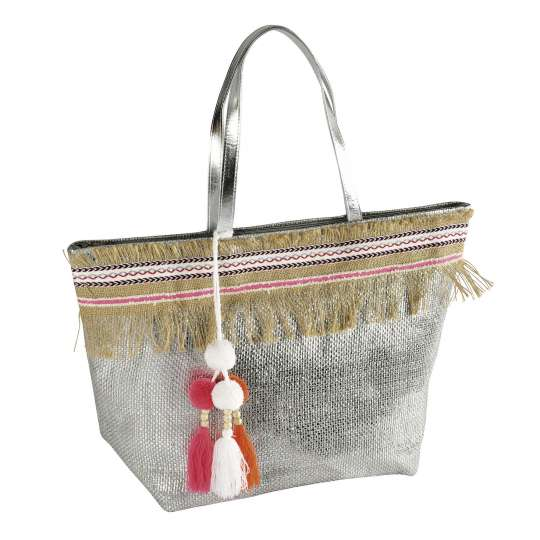 PAD - Tasche ICONIC silver