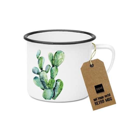 PPD Happy Metal Mug Cactus 603525