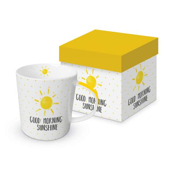 PPD 603584· Good Morning Sunshine Trend Mug Giftbox / Tasse in Geschenkbox