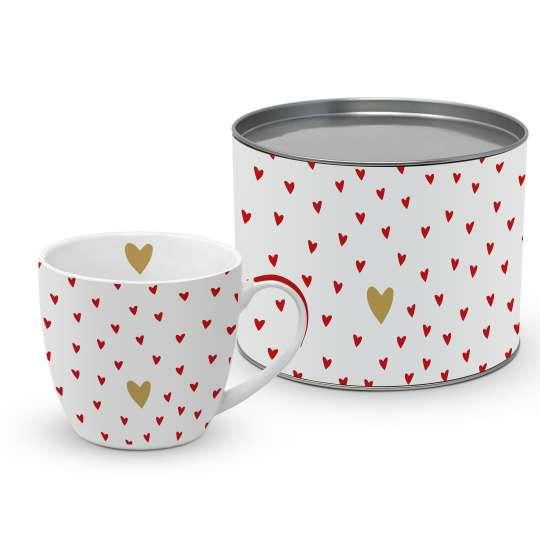 PPD 603599 · Little Hearts real gold BigMug Giftbox / Becher in Geschenkbox