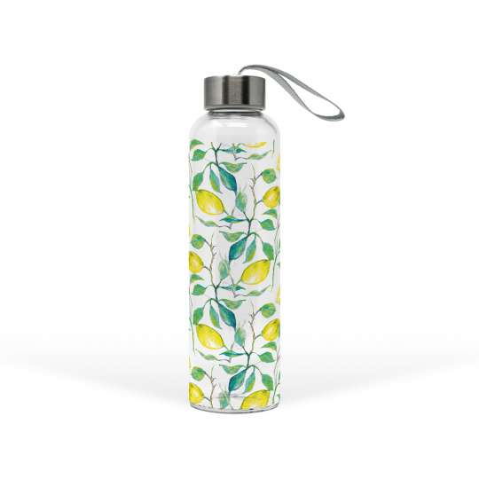 PPD 603650 · Beautiful Lemons Glass Bottle, 500 ml